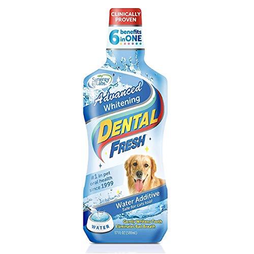 Dental Fresh Advanced Whitening Formula Dog Water Additive 17 oz....