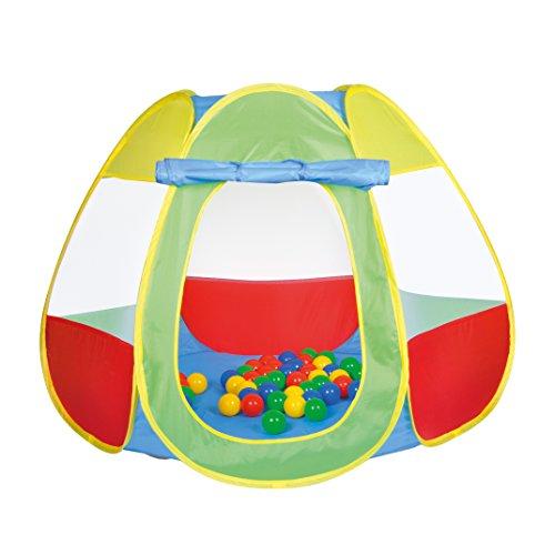 Knorrtoys 55323 - ballenbad Bellox inclusief 50 ballen, speeltent, kleurrijk