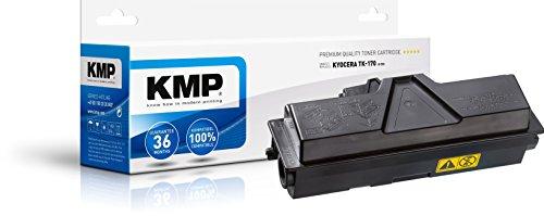 KMP Toner Kompatibel Kyocera TK-170 - Schwarz für: KYOCERA FS 1320D, FS 1320DN, FS 1370DN, ECOSYS P2100 Series