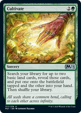 Magic: The Gathering - Cultivate - Core Set 2021