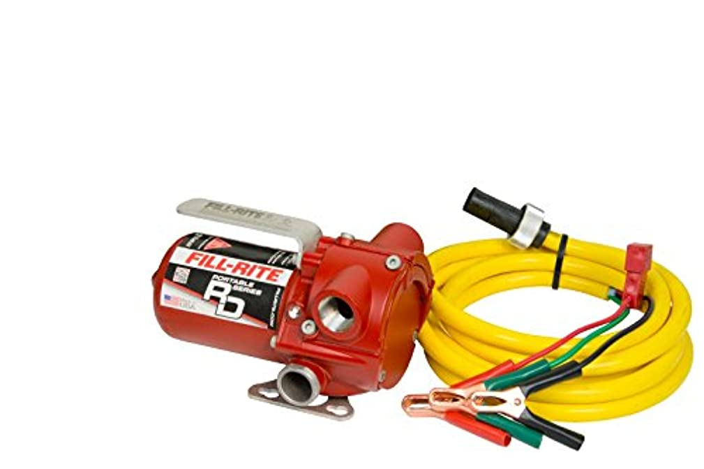 Fill-Rite RD812NN 8 GPM 12V Portable Fuel Transfer Pump with Power Cord