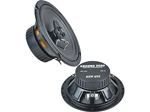 Ground Zero Iridium Lautsprecher Koax-System 240 Watt Mercedes C Klasse W203, S203, CL203 00-08 Einbauort vorne : Türen/hinten : -