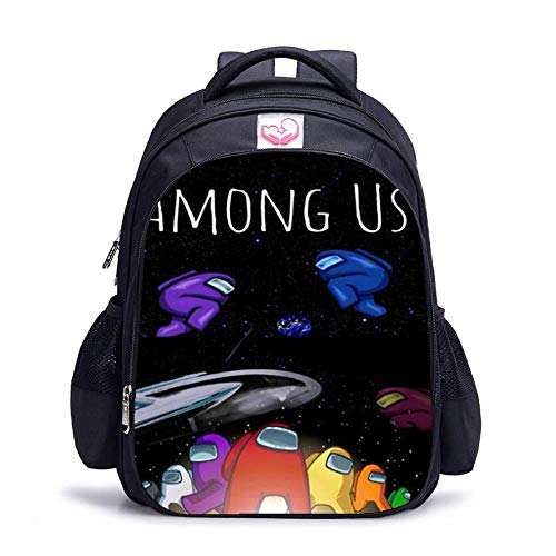Among Us Backpack, Load-reducing School Bag, Backpack Support Customized pictures-11