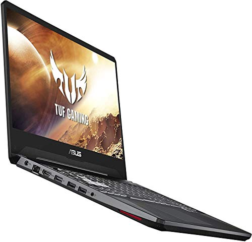 Asus TUF 15.6-inch FHD Gaming Laptop, AMD Quad Core Ryzen 7 3750H Processor, Nvidia Geforce GTX 1650 Max-Q, 8GB DDR4 RAM, 256GB Solid State Drive, RGB Backlit Keyboard, Windows 10 Home, Black