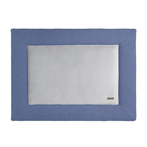 BO Baby's Only - Alfombra para parque de juegos (80 x 100 Sabor Clásico Rosa azul azul claro
