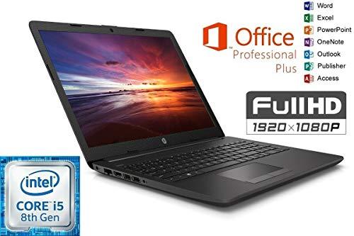 Notebook 250 G7 - Intel Core i5 - 16GB DDR4-RAM - 500GB SSD - Windows 10 PRO + MS Office 2016 PRO - 39cm (15.6