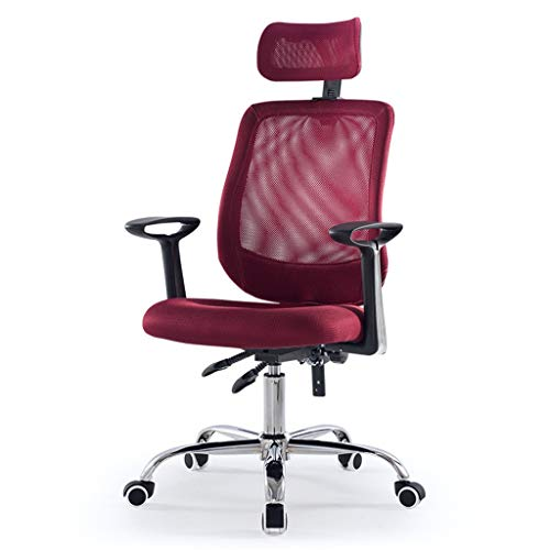 Home Office Furniture AOYANQI-Sillas de Escritorio Malla Respaldo Silla, Regulable en Altura...