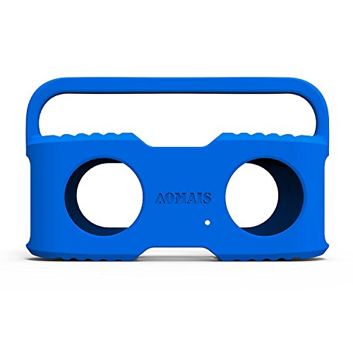 Bluetooth Speakers Sling Cover Compatible AOMAIS Sport II and Sport II+ Waterproof Portable Speakers (Blue)