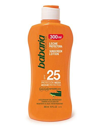 Babaria Leche Protector Solar Aloe SPF25-300 ml