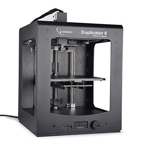 Gembird 3DP-D6-01 3D Drucker für PLA/ABS/PVA/PEVA/Hips Filamente Maker 6