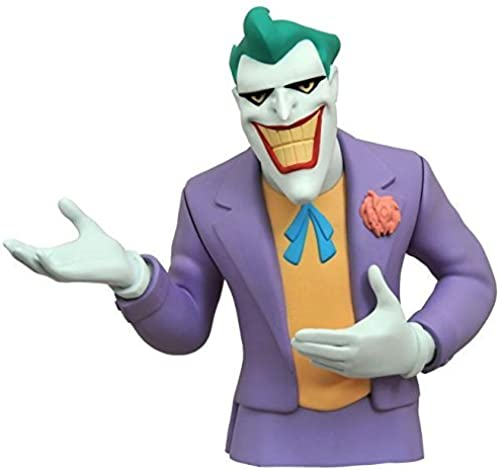 Diamond Select Toys Batman The Animated Series  The Joker Vinyl Bust Bank Statue by Diamond Select