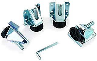 Gourd Heavy Duty 2000 LB Capacity Leveling Feet For Furniture, Cabinets And Workbench (4 Pack)