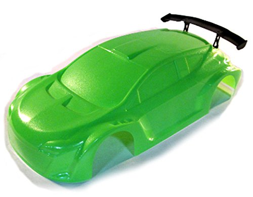 Redcat Racing Road Body (1/10 Scale), Green Rally