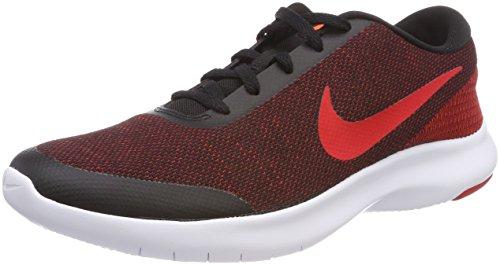 Nike Men's Flex Experience Run 7 Shoe, Black/University red-Gym red, 9.5 Regular US