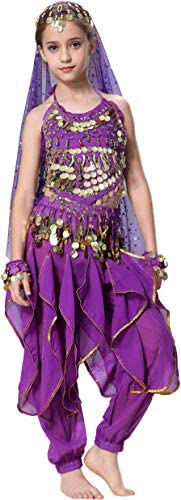 Child belly dance costume _image3