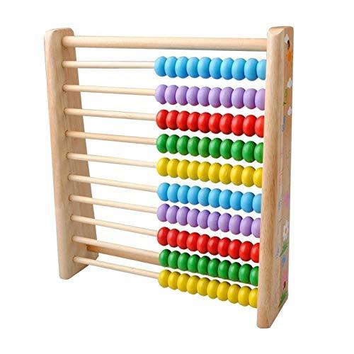 Pelze Holz Kinder Mathe Spielzeug Holz Abacus Teaching Learning Educational Vorschulbildung QiuGe