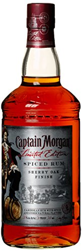 Captain Morgan Spiced Sherry Oak Finish Limited Edition  Rum (1 x 0.75 l)
