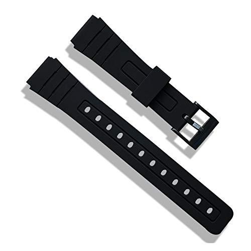 LITOSM Correa Reloj,Watch Straps 16 mm 18 mm 20 mm Bandas de Goma de Silicona para Relojes de Pulsera Reemplace la muñeca electrónica Reloj de la Banda de la Banda Correas de Deportes