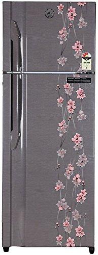 Godrej 350 L 4 Star Frost Free Double Door Refrigerator(RT-Eon-350-P-3.4, Silver, Inverter Compressor)
