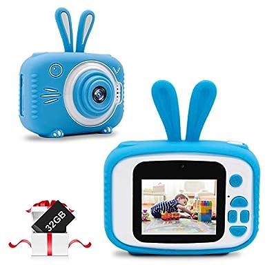 Amazon - Save 30%: JUNEU 20MP Kids Selfie Camera for Boys Girls, Dual Lens Camera 2.0 Inch IPS…