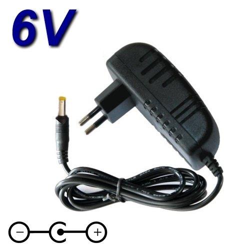 Adaptador de alimentación, cargador de 6 V para decodificador Movistar