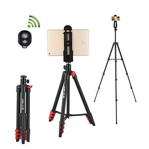 Tripod for iPad 53-Inch Lightweight Aluminum...
