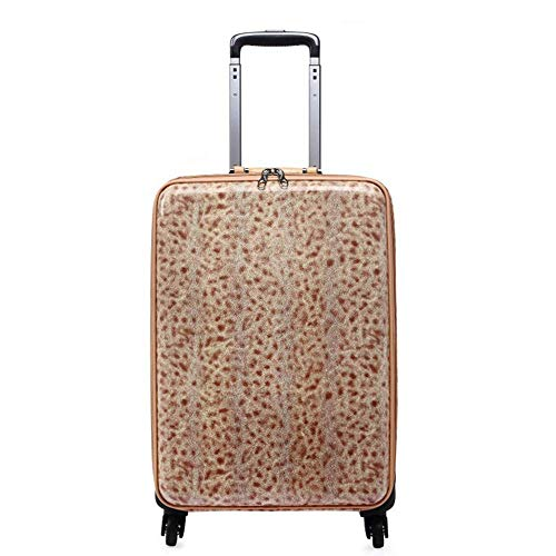 Buy HUYYA Spinner Suitcase Leopard Trolley Case Universal Wheel Luggage Female Boarding Box Busines...