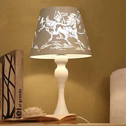 XUSHEN-HU led Lámparas de mesa, personalidad simple nórdicos de la manera creativa de las luces del estudio del dormitorio de la lámpara de noche, la sala de estar de la lámpara, Base de lectura luz d