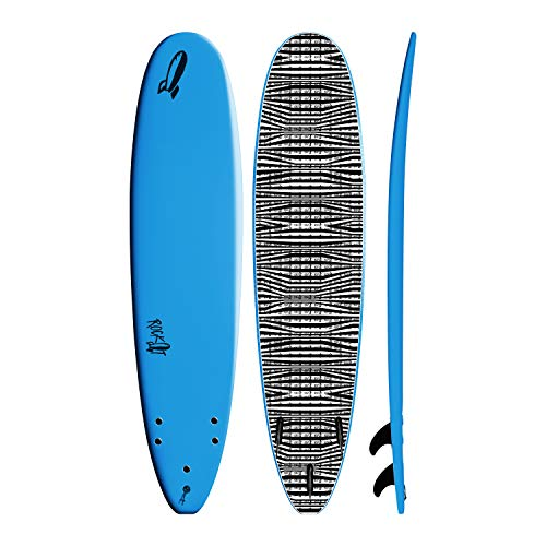 Rock-It 8' Big Softy Surfboard (White)