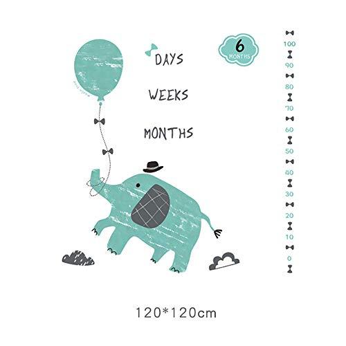 Nouveau née Couverture de Props de photographie, Baby Props imprimé Coton Mensuel Milestone Wrap Swaddle Couvertures, cadeau de Shower de bébé, Baby Growth Photography Background Prop,Sunrise