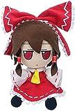 Marisa Komeiji Koishi Hakurei Reimu Hon Meirin Hata no koko Cosplay Plush Doll Stuffed Toys (Hakurei Reimu)