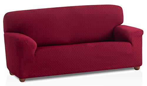 Bartali Copridivano Elastico Olivia - Colore Bordó - Dimensione 3 Posti (da 160 a 210 cm)