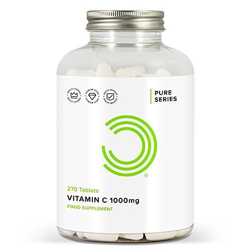 BULK POWDERS Vitamin C Tablets, 1000 mg, Pack of 270