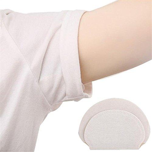 ECYC Déodorants en coton jetables sous les aisselles Déodorants sous les bras (Paquet de 40 pièces)