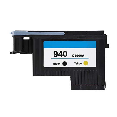 Pieza de Repuesto para Cabezal de impresión HP, Cabezal de impresión HP Officejet Pro 8000/8500 / 8500A, para Impresora 940 C4900A C4901A(Negro y Amarillo)