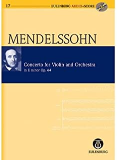 Violin Concerto: Eulenburg+pocket Score AND Audio CD (Eulenburg Audio+score Series) (Mixed media product) - Common