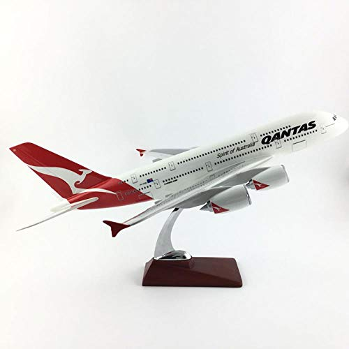 BOBO Airbus 380 - Maqueta de avión (47 cm, resina moldeada