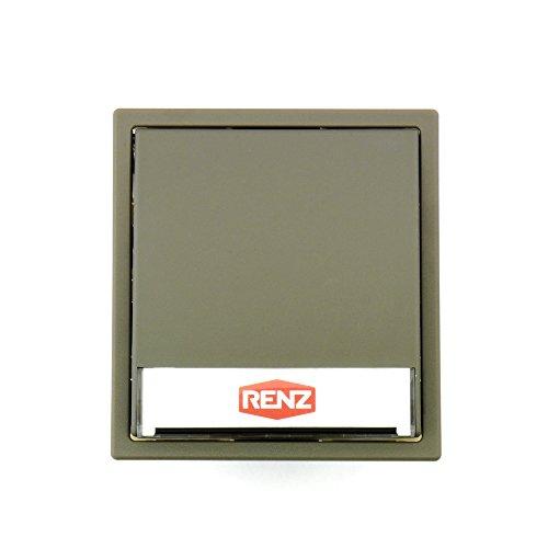 RENZ Tastenmodul mit 1 Klingeltaster Quarzgrau (RAL 7039) 97-9-85094