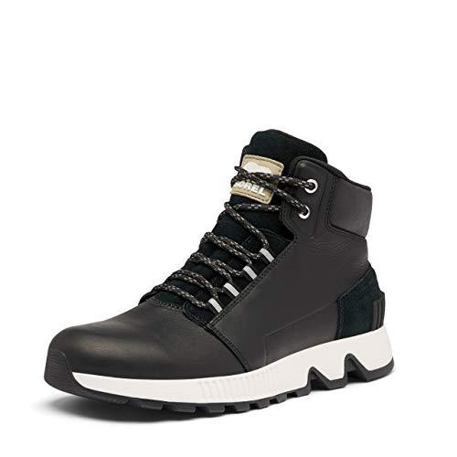 Sorel Men's Mac Hill Mid Ltr WP Boot - Rain and Snow - Waterproof - Black - Size 10