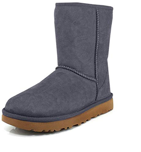 UGG Female Classic Short II Classic Boot, Navy, 4 (UK)