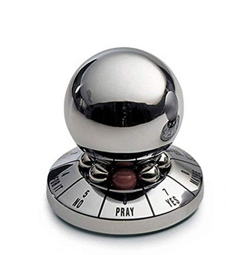 Airlxf Decision Maker Metal Ball, Metal Office Decompression Toy Ball Inger Spinner Anti-Stress...