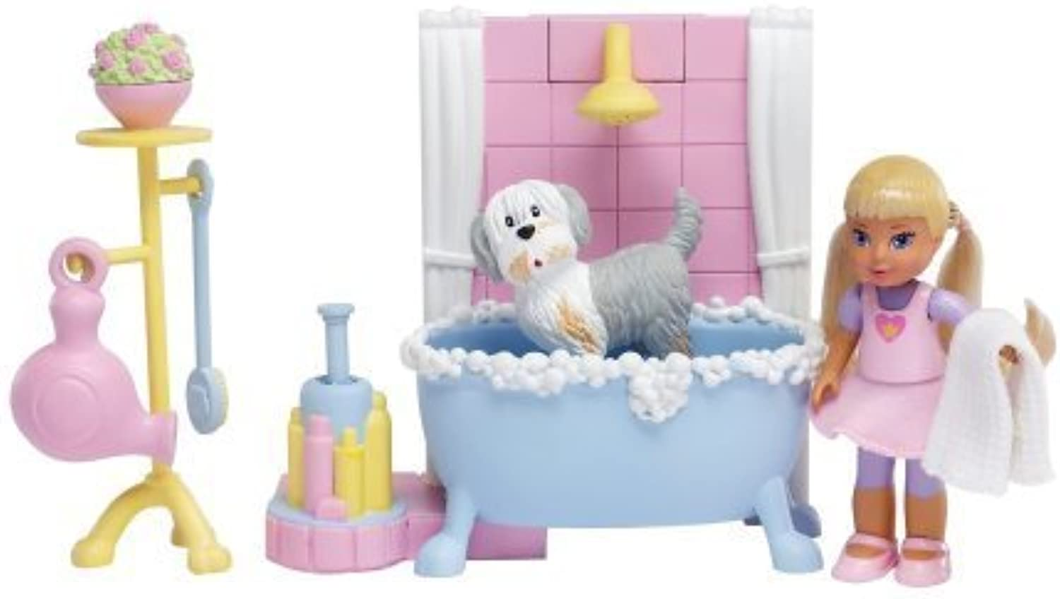 Learning Curve Caring Corners - Doggie Bath Doll Pack by Learning Curve