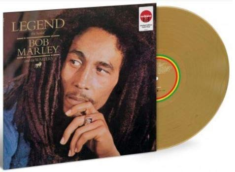 high quality Bob Marley Legend Vinyl Exclusive high quality popular Gold outlet sale
