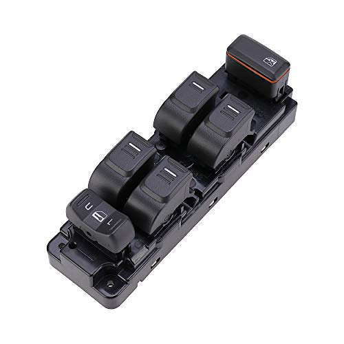 25779767 Driver Side Power Window Master Switch Replacement for Chevy Colorado 2004-2012/Replacement for GMC Canyon 2004-2012 /Hummer H3 2006-2010/H3T 2009-2010/with White Backlight