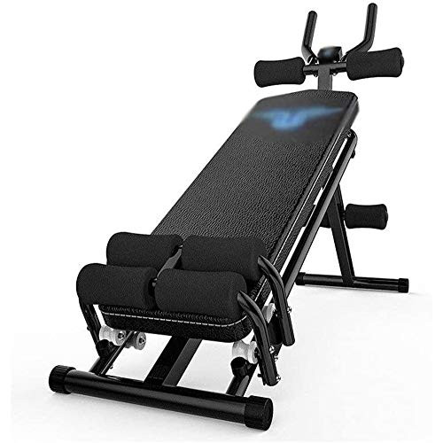 Best Deals! AJH Adjustable Professional Multi-Function Sit-ups Auxiliary Fitness Equipment Dumbbell Bench Home Fitness Sports Commercial Gym Supine Board Exercise Bench Fitness Dumbbell