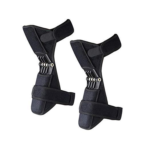 Booster Knee Braces, Tibial Booster Power Knäskydd Booster, för artros, Träning, Äldre, Bergsklättring,one pair installation