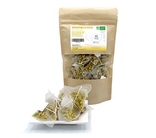 FRISAFRAN - Kamillen blütentee aus biologischem Anbau (60 Teebeutel)