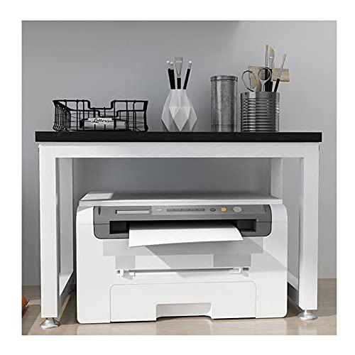 Soporte Escritorio para Soporte de Impresora Soporte de la Impresora de Escritorio, Escritorio de la Impresora de Marco de Metal, Usado para el escáner de la máquina de fax de la Mesa de Oficina, los