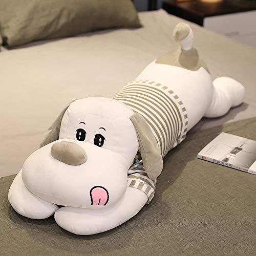 huobeibei Bonito Juguete de Felpa para Perro, Suave Relleno de Dibujos Animados, muñeco de Perro, Almohada para Dormir Larga, cojín para bebés, niños, niñas, Regalos, 130 cm B