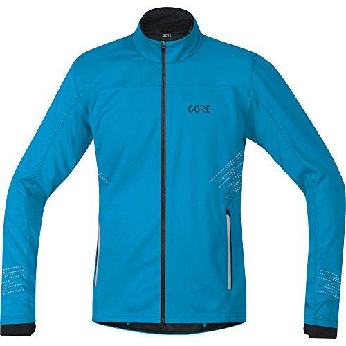 GORE Wear Winddichte Herren Lauf-Jacke, R5 GORE WINDSTOPPER Jacket, L, Blau, 100153
